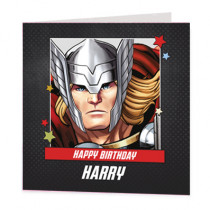 Marvel Avengers Thor - Luxury Greeting Card