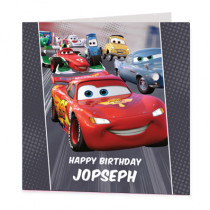 Disney Pixar Cars Lightening McQueen - Luxury Greeting Card