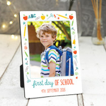 First Day At School- Photo Frame