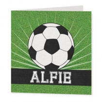 Football field- Luxury Greeting Card