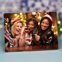 Christmas Just Photo Landscape - Personalised Photo Frame