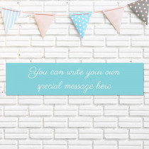 Just Text - Personalised Banner