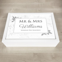 Personalised Keepsake Memory classic floral theme