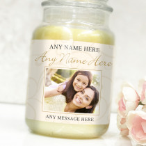 Personalised Occasion Photo Label