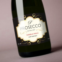 Personalised Prosecco - Label