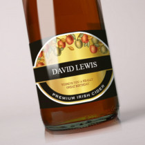 Personalised Cider Label