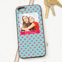 Little Red Flowers Pattern - iPhone 5 Case