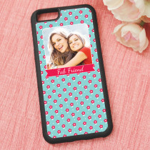 Little Red Flowers Pattern - iPhone 6 Case