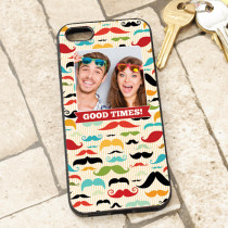Moustache Pattern - iPhone 5 Case