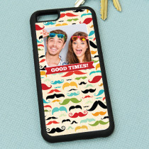Moustache Pattern - iPhone 6 Case