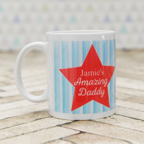 Name Amazing Daddy - Ceramic Mug