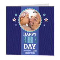 Retro Dad - Luxury Greeting Card