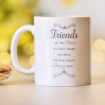 Sentimental Friends Are Like Stars - Mug