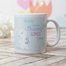 Some Bunny Loves Me - Ceramic Mug