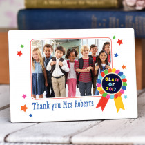 Teacher Class Of - Personalised Photo Frame