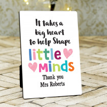Teacher Shape Minds- Photo Frame