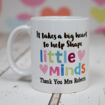 Teacher Shape Minds - Ceramic Mug