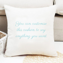 Text Only - Personalised Cushion