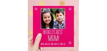 Personalised Mother's Day Cards & Gifts!