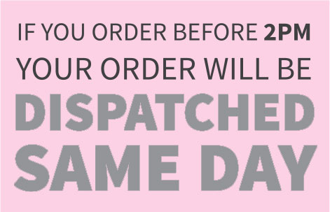 Same Day Dispatch on Orders Before 2PM