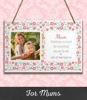 Personalised Gifts for Mums and Mummies