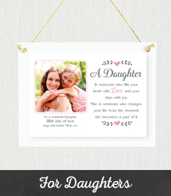 Personalised Gifts For Daughters