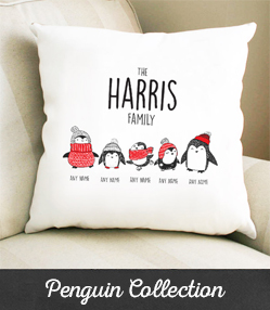 Personalised Penguin Gifts