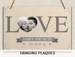 Personalised Hanging Plaques